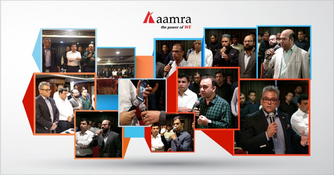 aamra Town Hall 31 March 2019